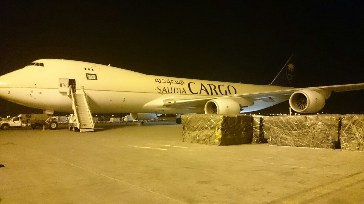 saudia airlines cargo Beoing 747 800