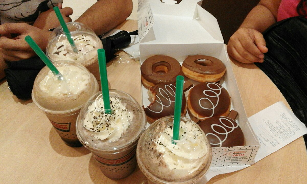 @IT Park cebu city, Krispy kreme Sweets :)