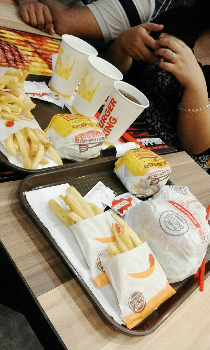 @IT Park cebu city, for the love of burger  fries Hmm HAHAHA