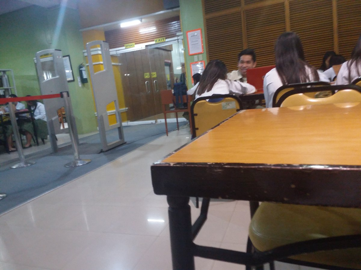 Library, students, classmates