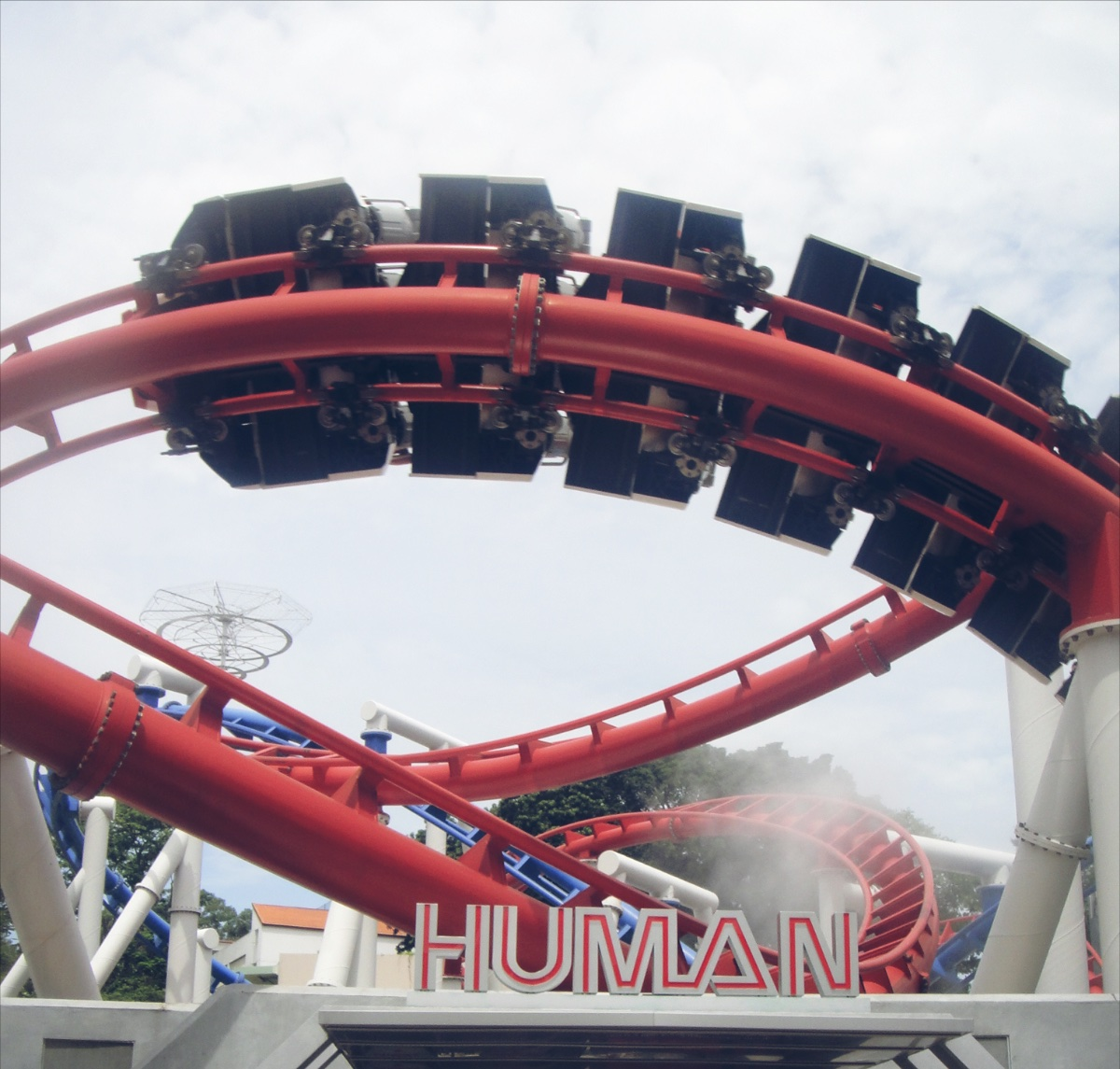 #RollerCoaster, #Human, #Singapore