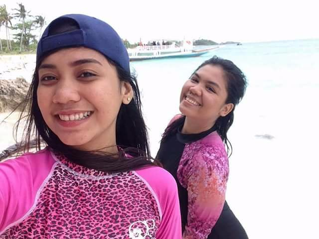 Friends, travel, resort life, selfie, malapascua island