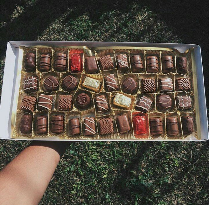 chocolates, yum, food