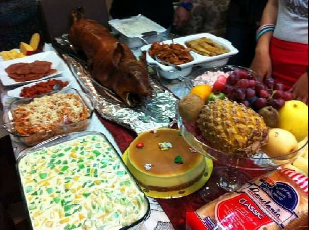 feast, food, lechon, holidays