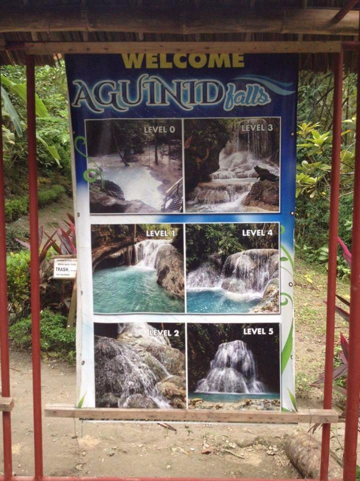 Challenge Accepted in Aguinid Falls 💖😍😍