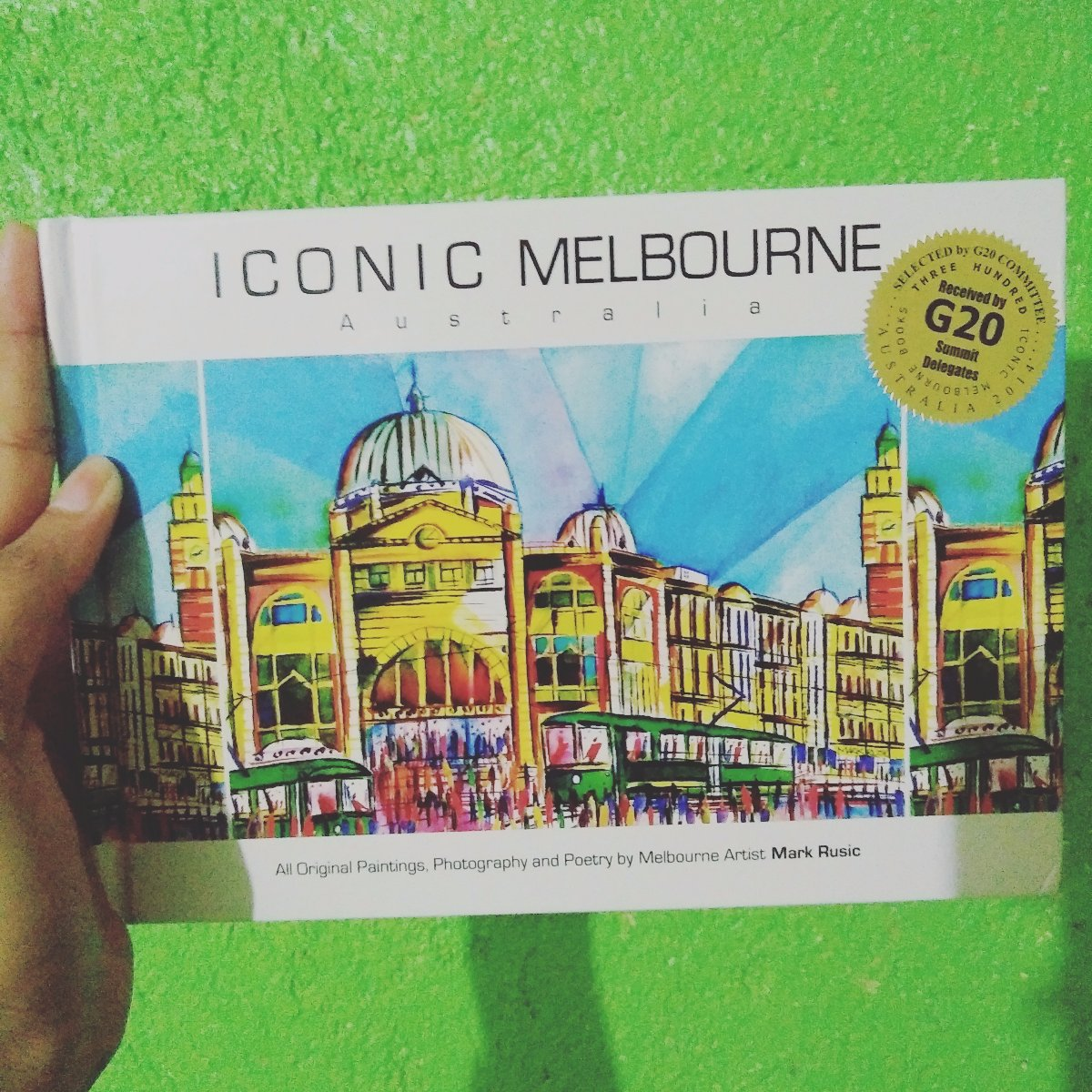 Thank you for this book from Melbourne Australia 😍
