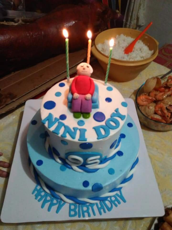 Birthday Cake For Nini Doy Photo Uploaded By Bacat443