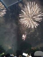 Fireworks that light up the sky during sinulog