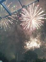 Fireworks that light up the sky , sinulog 2018