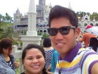 with my love at Simala 3