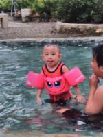 swimming, time, mylove, baby gaven, cutie cute