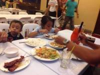 little, kids, busy, eating, cutie, loves, mikang  gaven