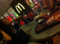 a, date, with, this, two, girls, at, mcdo