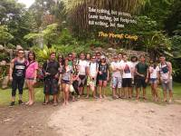 At Forest Camp, dumaguete