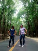 man made Forest with ate Lhiza