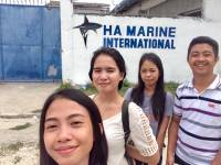 Company visit with these people, SharkStudy, BabySharks