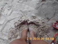 bantayan under my feet