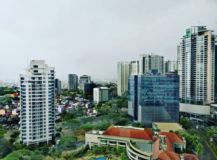 Gloom, at cebu business park, view from the top