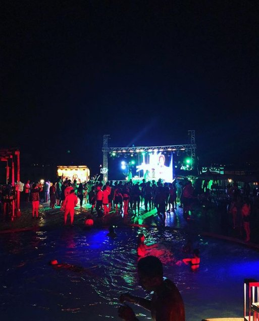 Party all night at sky water park cebu