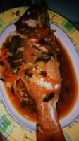 steamed,fish,grouper,ginger,scallion,sauce