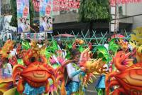 Sinulog 2011, Street Parade, amazing costumes of crabs and under the sea creatures