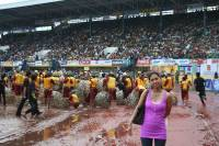 My wife, sinulog 2011, 3 months pregnant