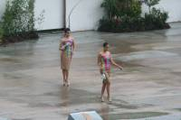 Sinulog 2011, main stadium, fashion show in the rain