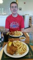 fish and chips with my Hubby