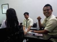 Polsci class, discussion, paul as a subject , q and a about report
