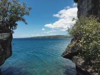 Buho rock, camotes, cliff, sea