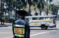 Street duty,  street life,  the traffic enforcer