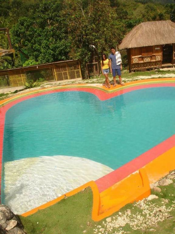 Heart Shaped Swimming Pool, Coal Mountain Resort, Argao, Cebu, Philippines