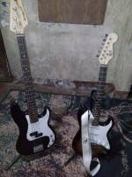 Uncles electric guitars