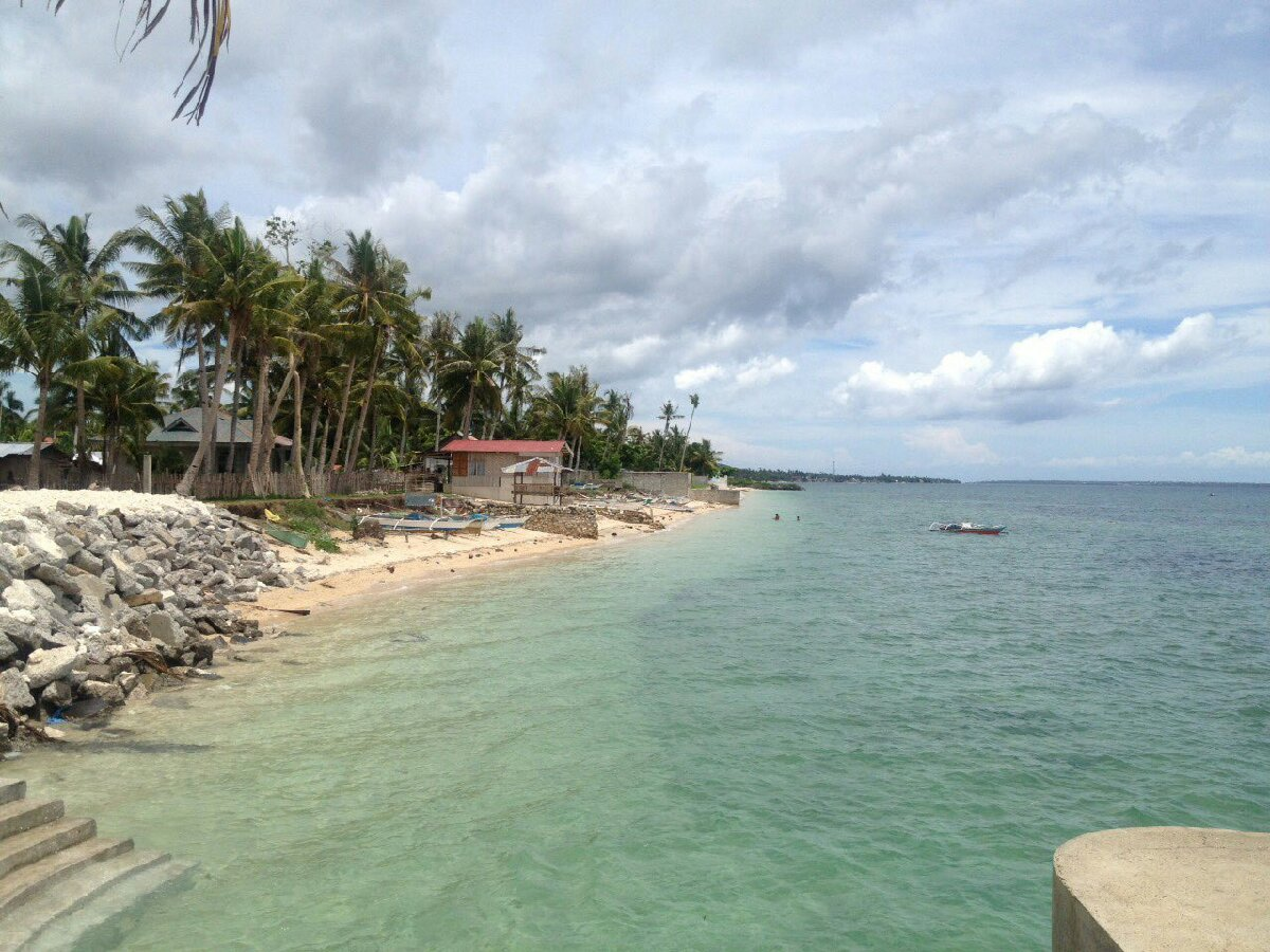bantayan, province, beach, nic...