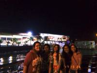 At naga boardwalk with friends