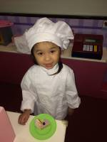 my little niece is a chef