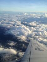 Sky, Clouds, Airplane, Travel