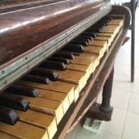 Old, Piano, Antique