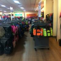 Mall bags section