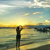 Sunset at Tulang Diot, Camotes