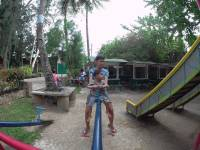 seesaw in the nature park