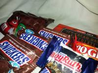 Chocolates, snickers, 100grand, mandm, dark chocolate, fun size and mini size