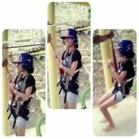 250m Zip line, Coal Mountain Resort, Argao, Cebu, Philippines